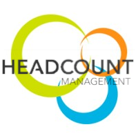 Headcount logo 2 square with text