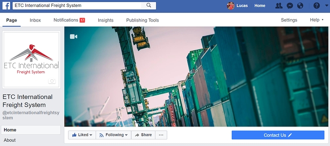 Facebook Call to Action example 3