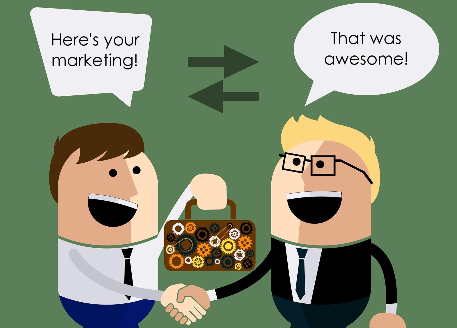 digital marketing services sales services