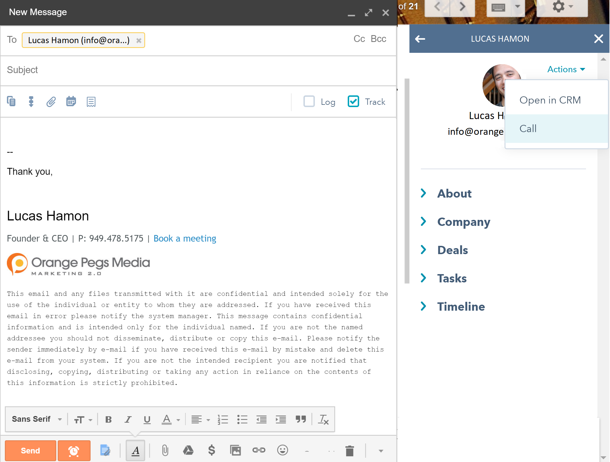 email insights blog