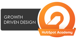 Orange Pegs Media is Growth Driven Design certified