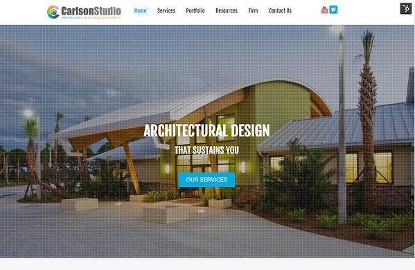 Website ddevelopment for achitects