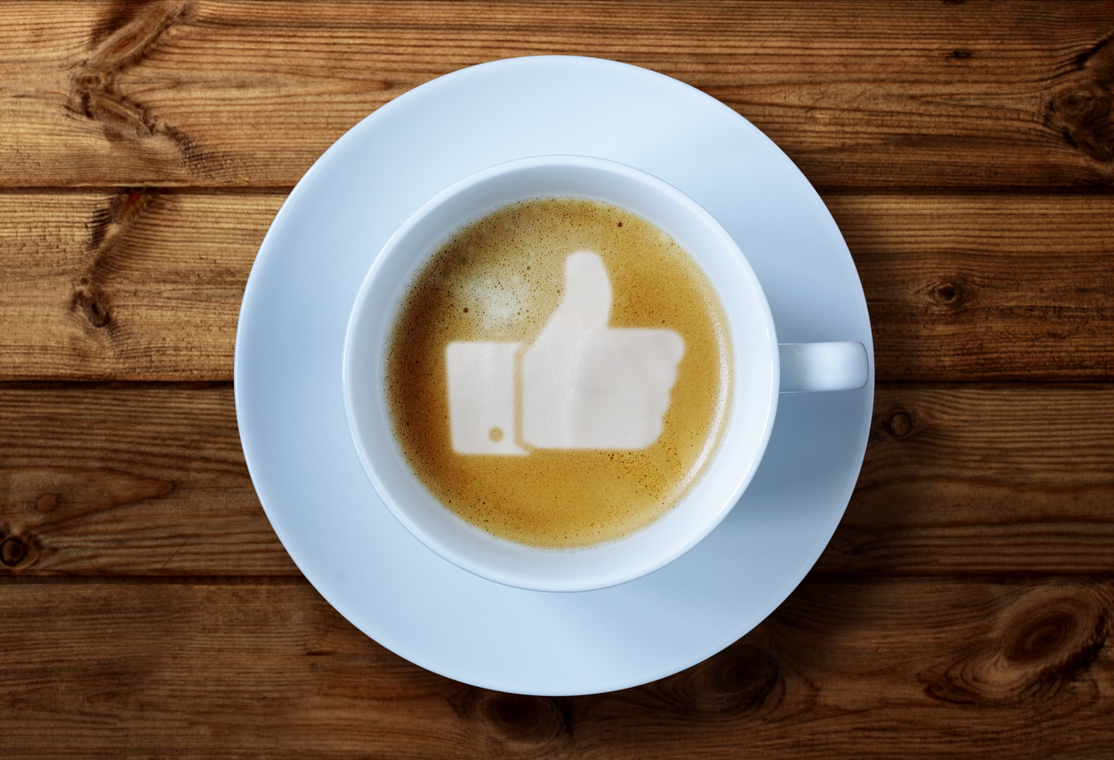 Social media management as pleasant as a cup of joe that gives you props