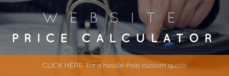 Calculate the price of your next website build with this handy calculator